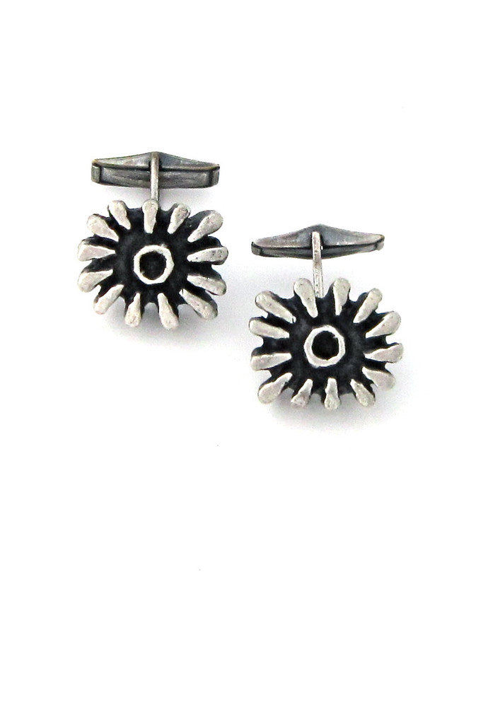 Guy Vidal Canada pewter cufflinks