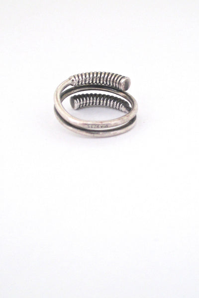 David-Andersen coiled silver ring