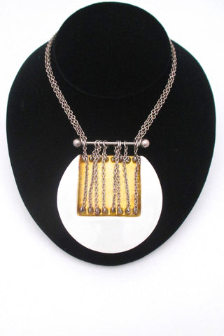 Royal Bini necklace by Royal Copengahen & Anton Michelsen at Samantha Howard Vintage