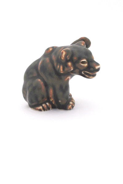 Royal Copenhagen Knud Kyhn bear cub #5 - paw up