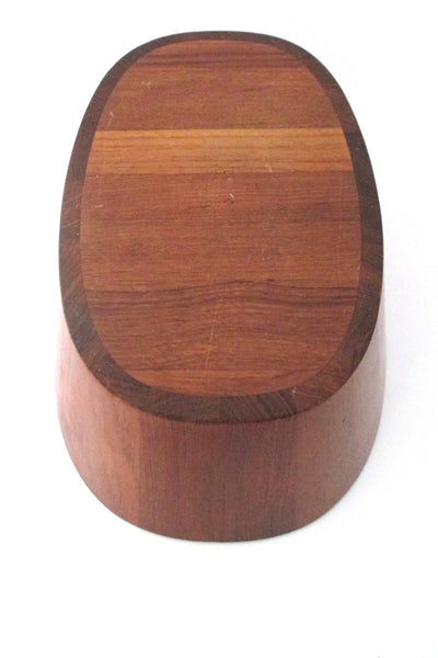 Dansk staved teak large bowl by Quistgaard