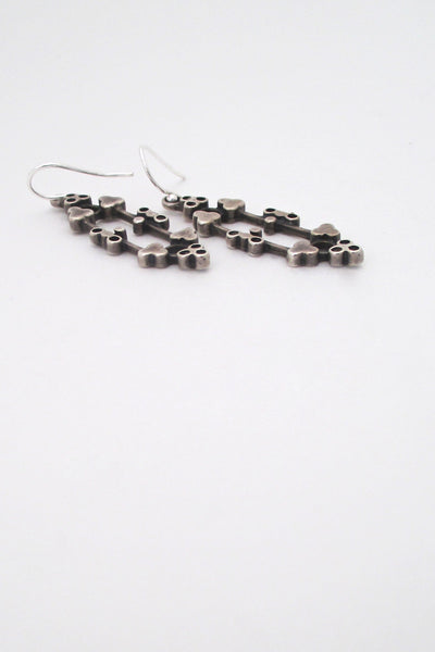 David-Andersen silver earrings - Marianne Berg