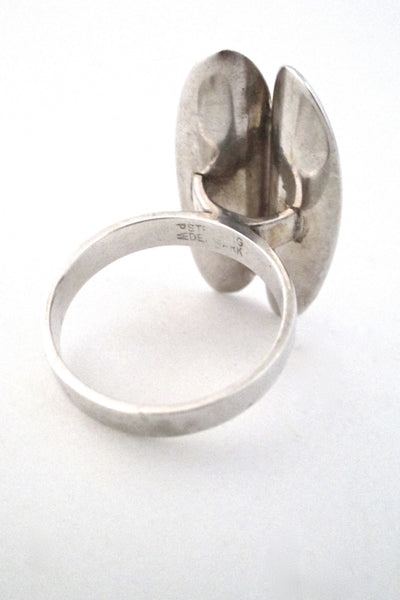Poul Warmind large 'ovals' ring