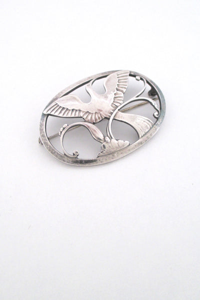 Georg Jensen 'Bird of Paradise' brooch #238