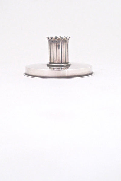 Georg Jensen sterling candle holder #895 - Jorgen Jensen