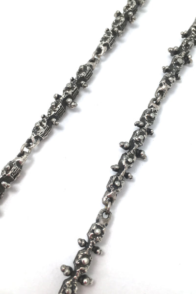 Guy Vidal 'knobbly' long link chain