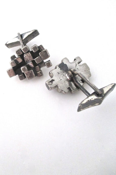 Guy Vidal 'cubes' cufflinks