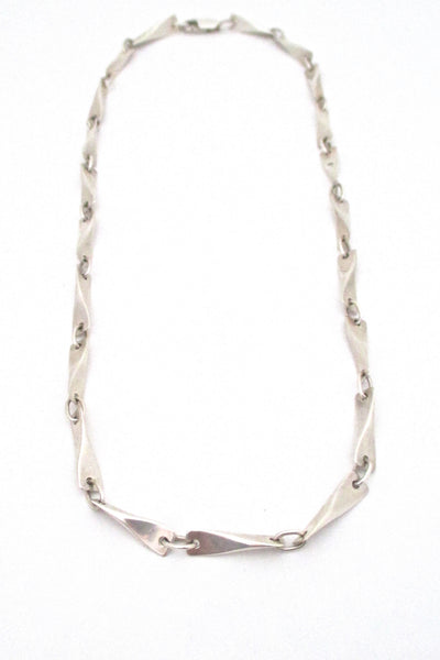Darla Hesse heavy silver long link chain