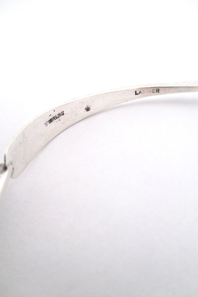 Jean Lasnier studio made silver bangle bracelet