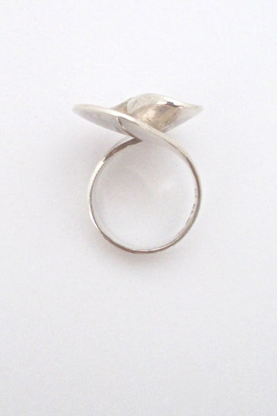Georg Jensen swirl ring #130 - Ibe Dahlquist