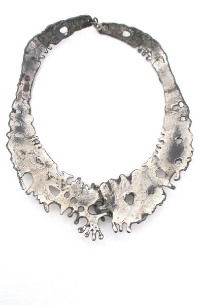 Guy Vidal large front closure neck piece