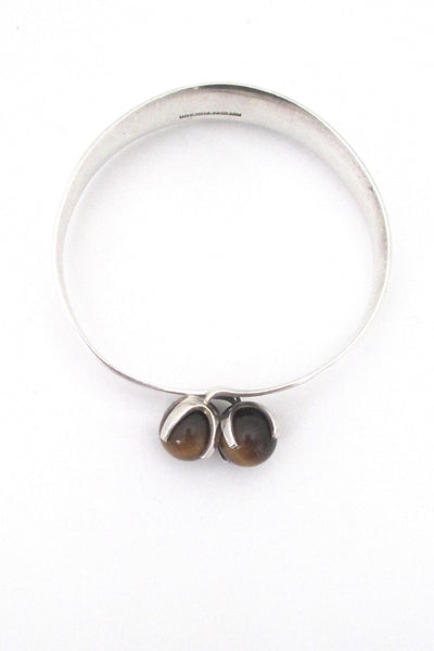 Elis Kauppi twin tiger eye bracelet