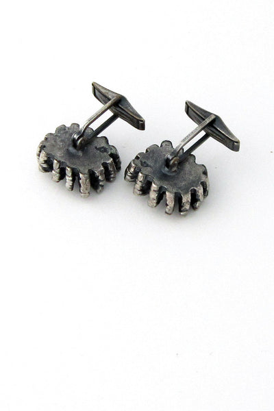 Guy Vidal sunburst cuff links