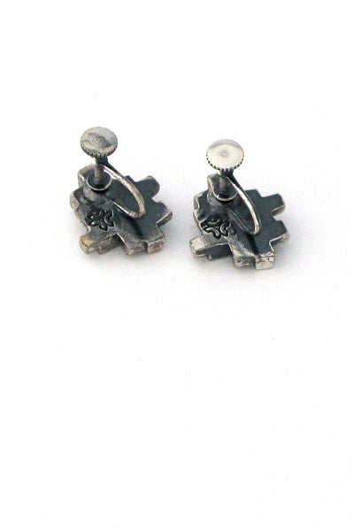 Guy Vidal cubes earrings