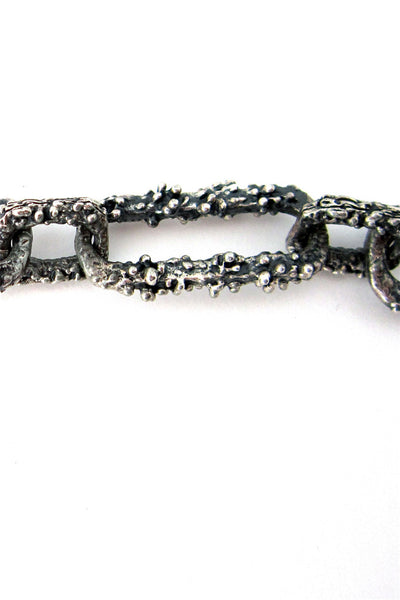Guy Vidal Canada  large textured link chain