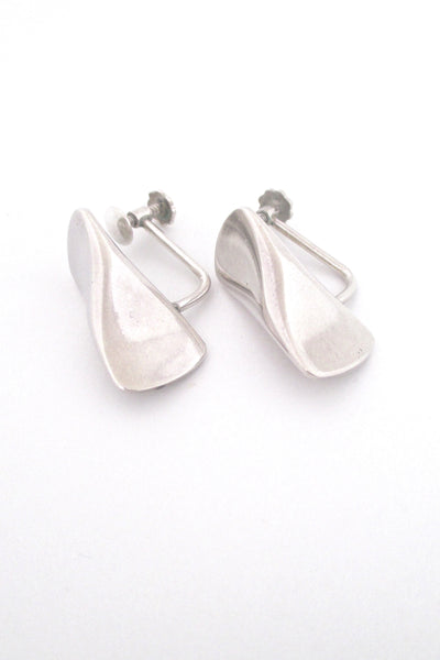 Georg Jensen earrings # 116B by Edvard Kindt-Larsen