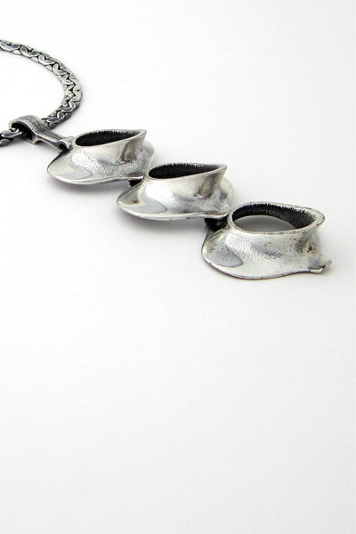 Guy Vidal Canada pewter necklace