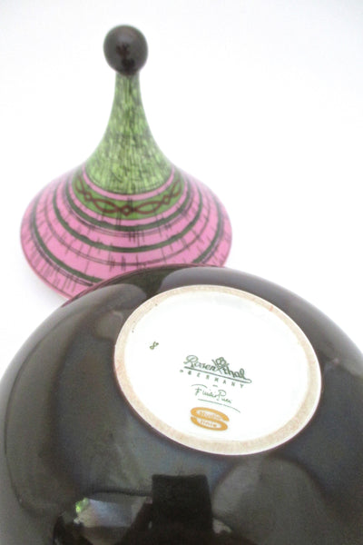 Emilio Pucci for Rosenthal lidded box
