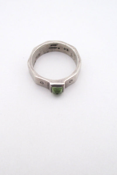 Lisa Jenks vintage peridot ring