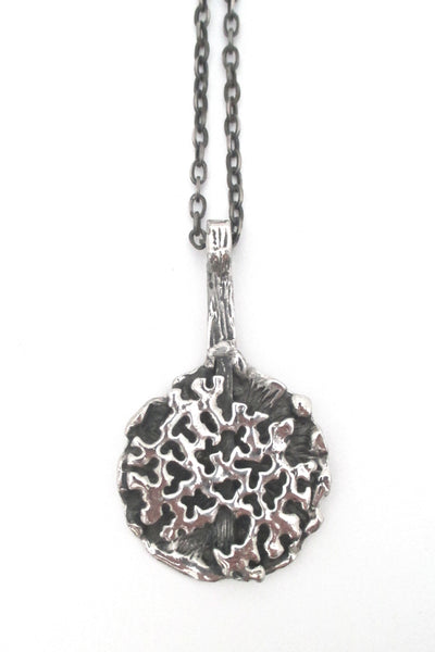Robert Larin 'shadowbox lichen' pendant necklace