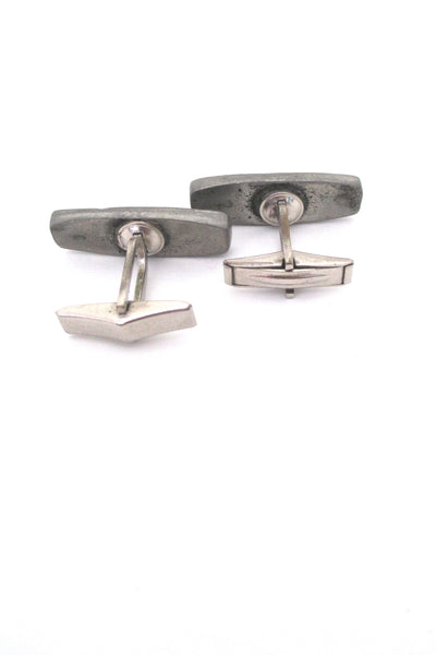 Robert Larin shadowbox dots cufflinks