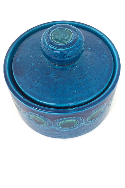 top Bitossi Italy vintage ceramic lidded box design Aldo Londi