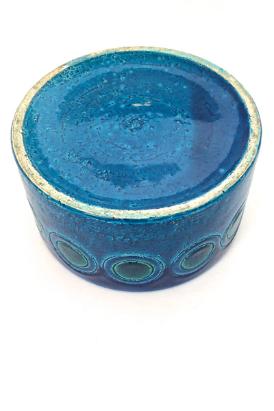 Bitossi 'Rimini Blue' lidded box