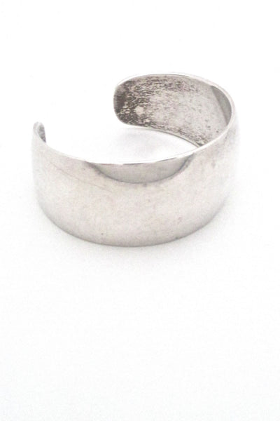 Ove Wendt for Age Fausing heavy silver cuff bracelet