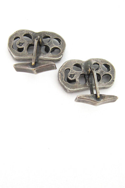 Guy Vidal wheels cuff links