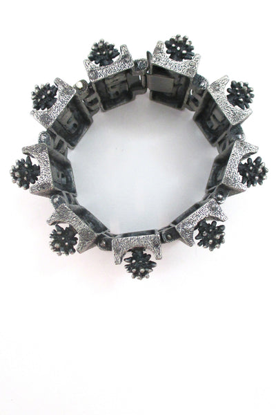 Guy Vidal massive 'urchins & windows' bracelet