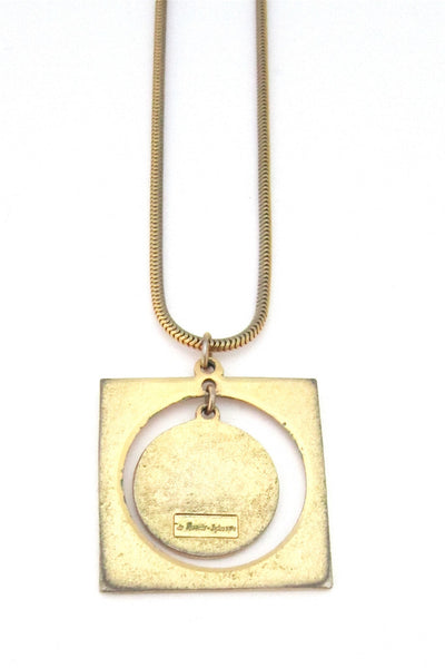 de Passille-Sylvestre 'embrace' necklace