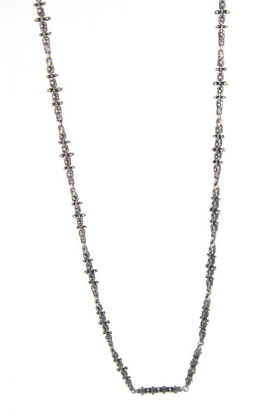 Guy Vidal 'knobbly' long link chain necklace