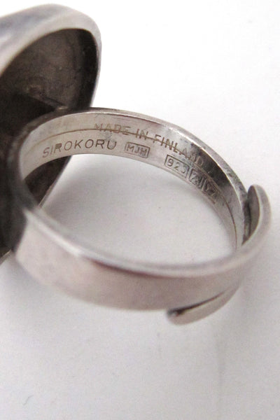 Matti Hyvarinen 'divide' ring