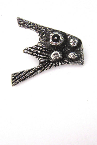 Robert Larin 'volcanoes' brooch