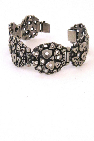 Robert Larin pierced triangles bracelet