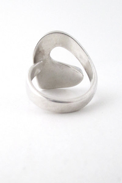 David-Andersen silver swirl ring