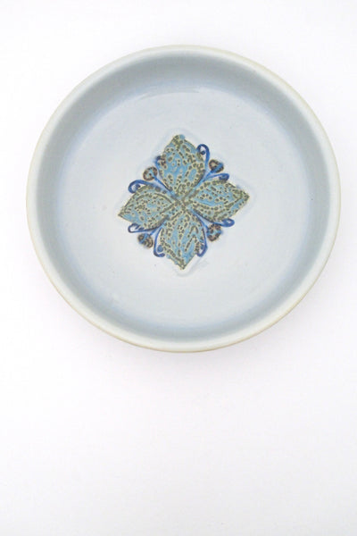Royal Copenhagen medium 'Baca' dish by Grethe Helland