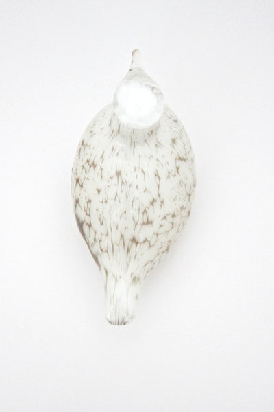 top Oiva Toikka Nuutajarvi Finland glass bird white willow grouse sculpture iittala