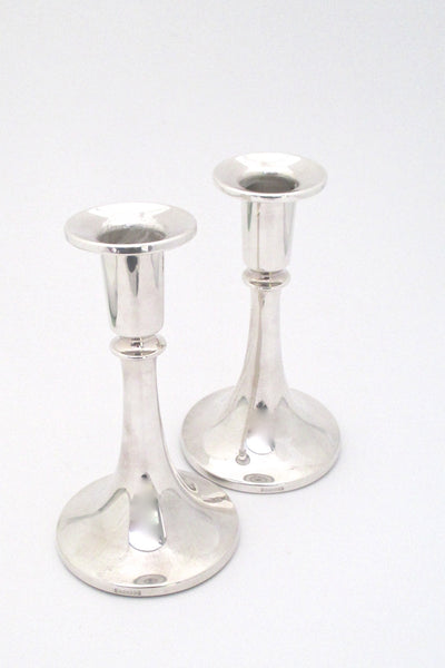 David-Andersen silver candle holders - pair