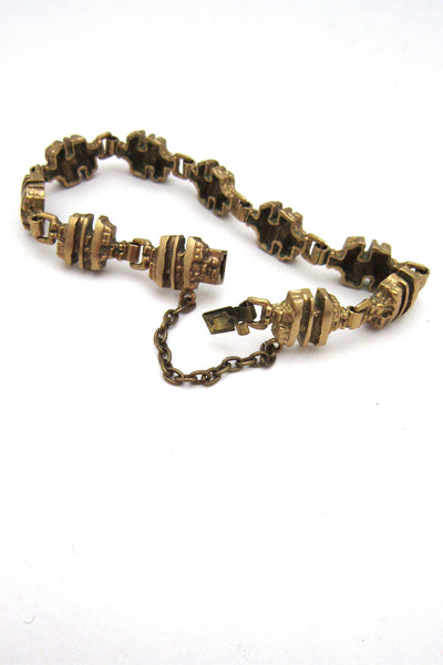 Finnish cast bronze bracelet