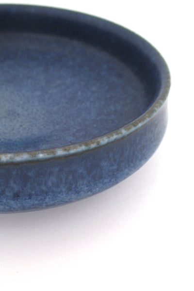Rorstrand matte blue CET bowl by Carl Harry Stalhane