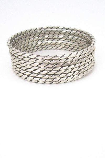 Aarre & Krogh sterling bangles