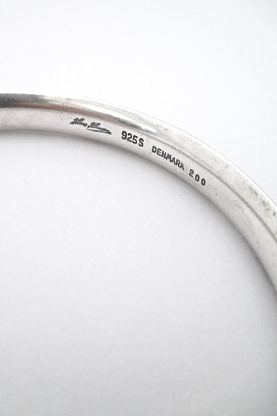Hans Hansen silver bangle bracelet #200