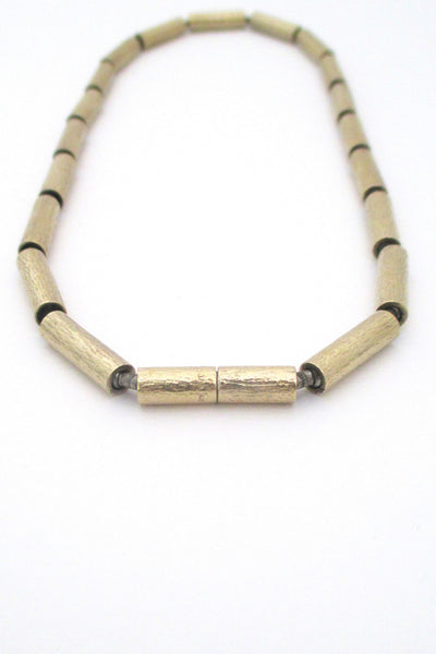 Jens Aagaard silver gilt necklace