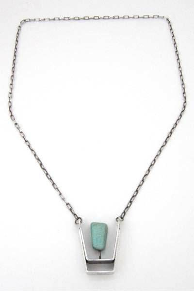 Erling Christoffersen large pendant necklace