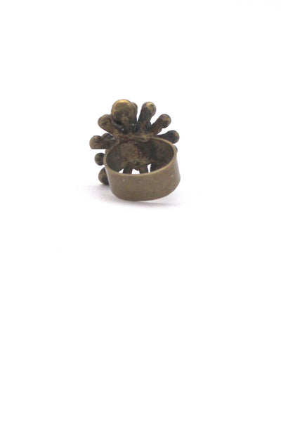 Pal Kepenyes large starburst ring