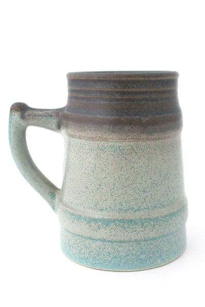 Lotte Canada glazed ceramic large mug Canadian studio pottery Lotte lamp glaze