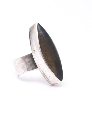 Rafael Alfandary Canada vintage extra large ring in sterling silver