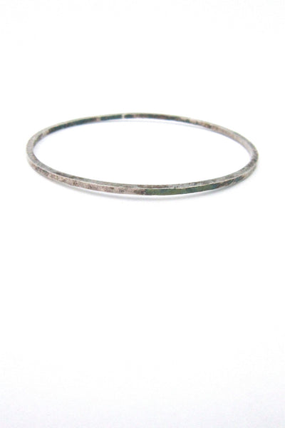 Rey Urban for A Fausing Denmark hammered silver bangle