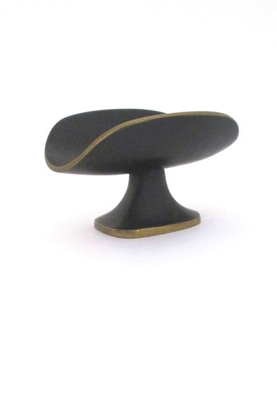 Richard Rohac Austria mid century bronze small footed dish